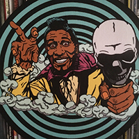 Screamin Jay Hawkins Inspired Slipmat by Mood Poison