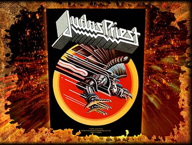 Judas Priest- Screaming For Vengeance Sewn Edge Back Patch (bp15)
