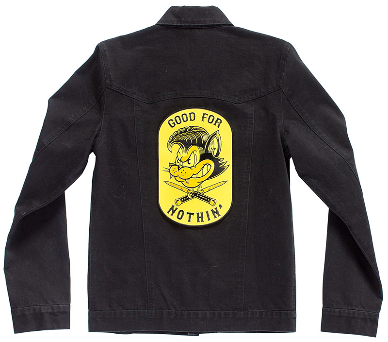 Kustom Kreeps Oversized Embroidered Back Patch  - from Sourpuss - Good For Nothing