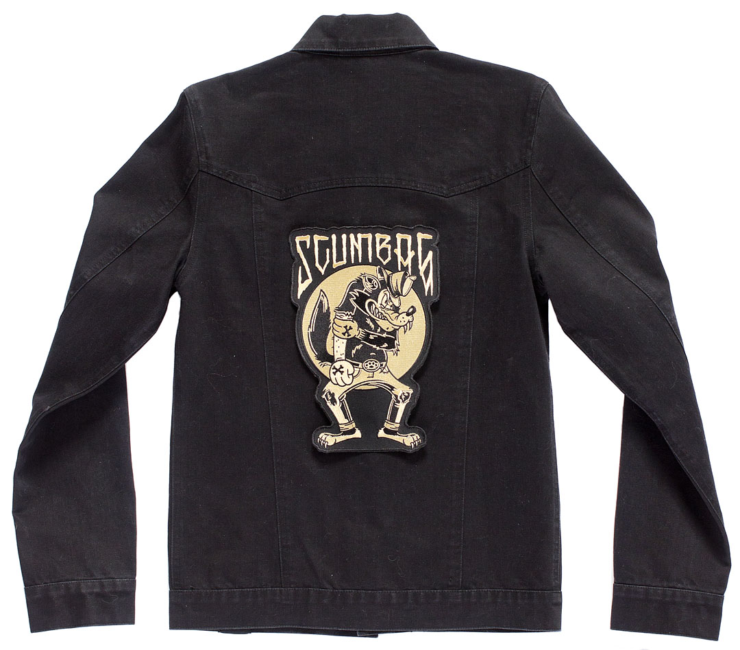 Kustom Kreeps Oversized Embroidered Back Patch  - from Sourpuss - Scumbag
