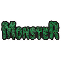 Kustom Kreeps Large Drippy Monster Embroidered Patch by Sourpuss (ep928)