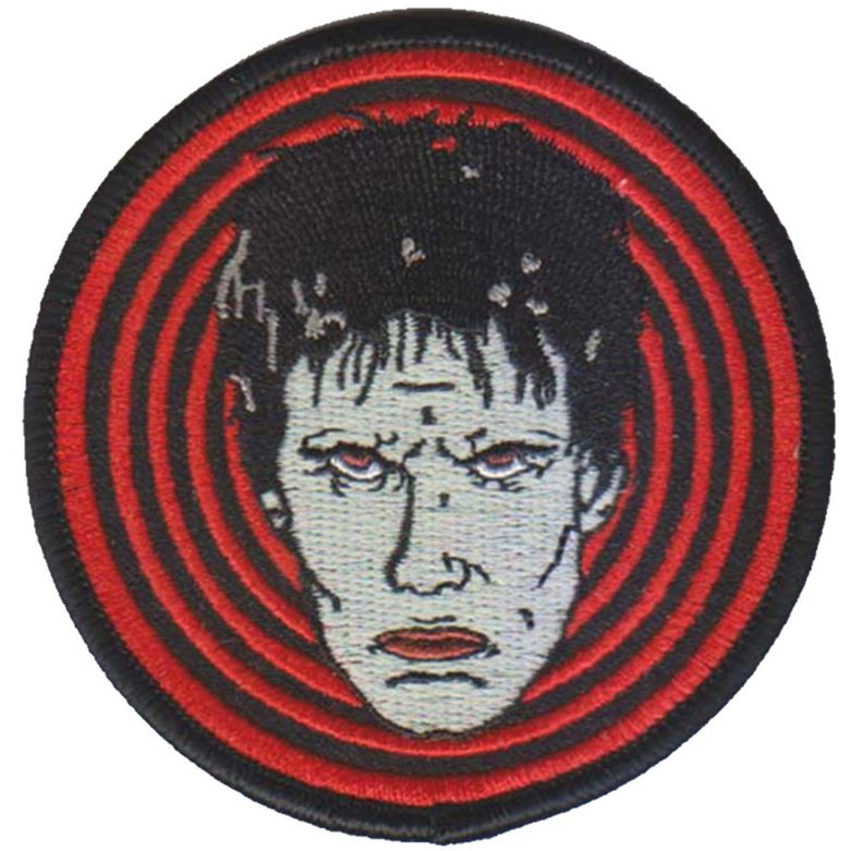 Lux Interior Inspired Embroidered Patch by Mood Poison - in RED (ep743)