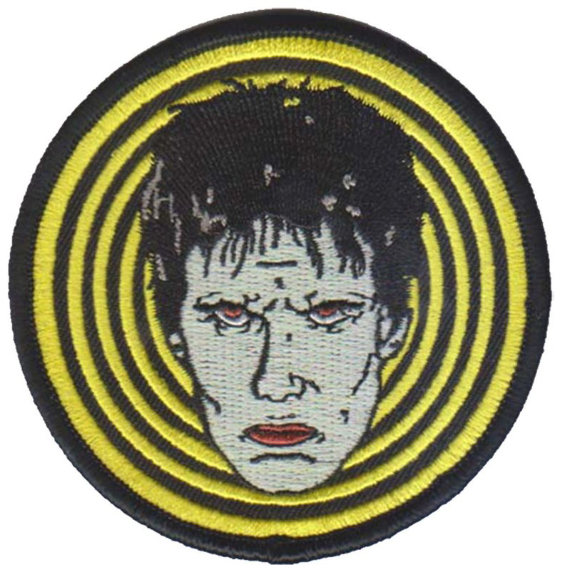 Lux Interior Inspired Embroidered Patch by Mood Poison - in YELLOW (ep745)