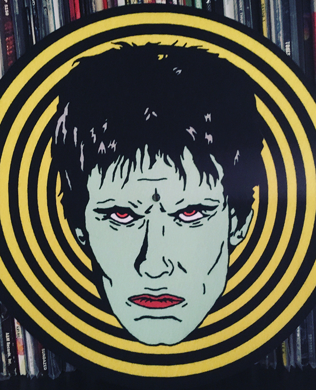 Lux Interior Inspired Slipmat by Mood Poison