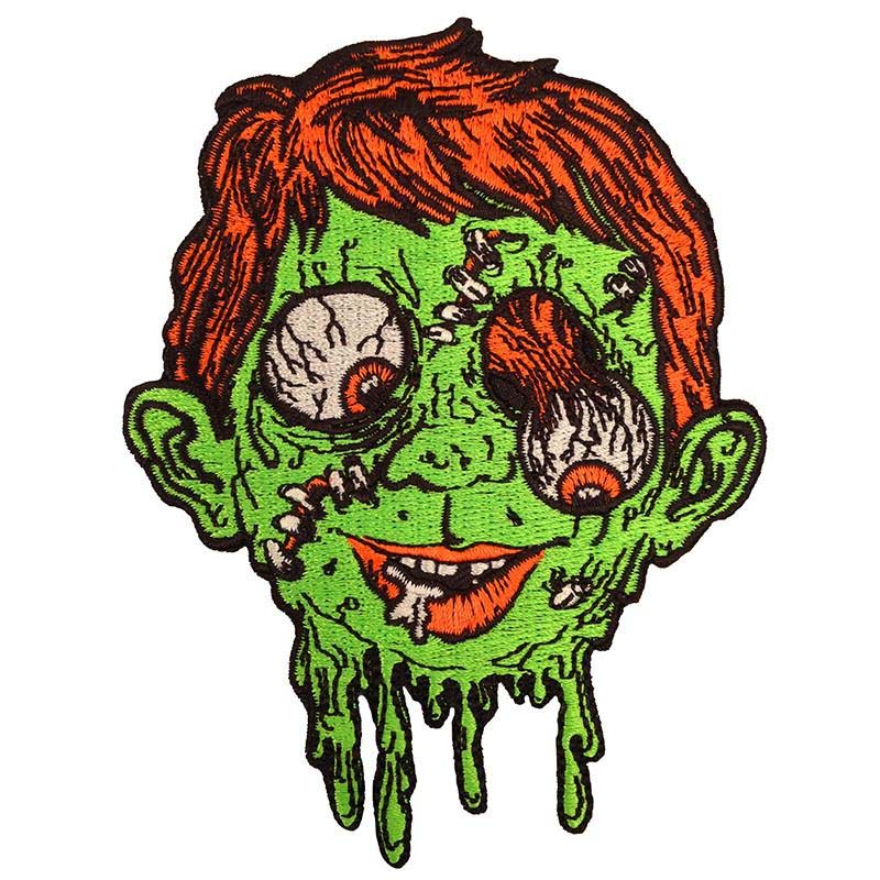 Melting Mad Madball Embroidered Patch by Scumbags & Superstars (ep274)