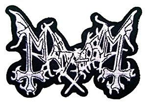 Mayhem- Logo embroidered patch (ep178)