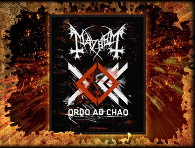 Mayhem- Orda Ad Chao Woven Patch (ep600)