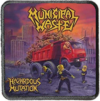 Municipal Waste- Hazardous Mutation screened sewn edge Patch (ep509)