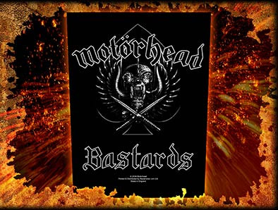 Motorhead- Bastards Sewn Edge Back Patch (bp23)