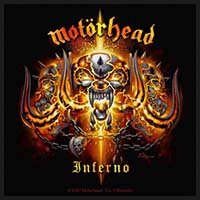 Motorhead- Inferno Woven Patch (ep184)
