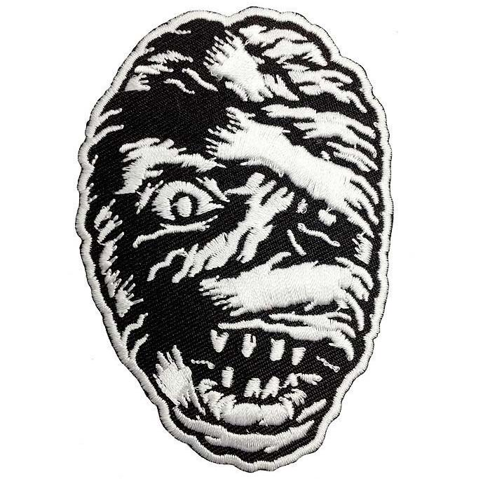Vintage Mummy Embroidered Patch by Scumbags & Superstars (ep281)
