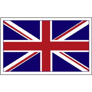 Union Jack Embroidered Patch (ep623)