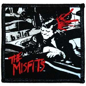 Misfits- Bullet Woven patch (ep405)