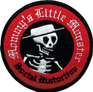 Social Distortion- Mommy's Little Monster embroidered patch (ep301)