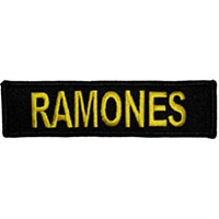 Ramones- Logo embroidered patch (ep26)