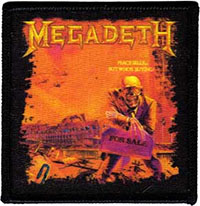 Megadeth- Peace Sells patch (ep30)