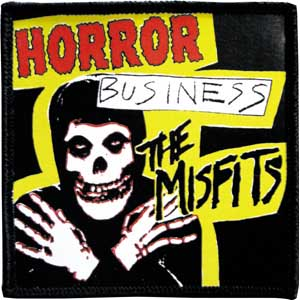 Misfits- Horror Business embroidered patch (ep406)