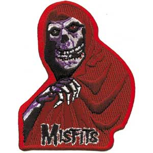 Misfits- Red Fiend embroidered patch (ep407)