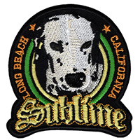 Sublime- Lou Dog embroidered patch (ep103)