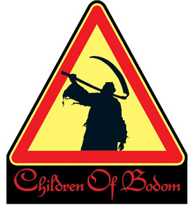 Children of Bodom- Reaper embroidered patch