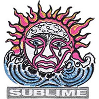 Sublime- Weeping Sun embroidered patch (ep105)