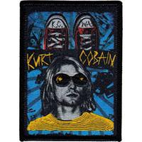 Kurt Cobain- KCWA embroidered Patch (ep129)