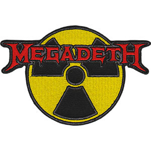 Megadeth- Radioactive embroidered patch (EP692)