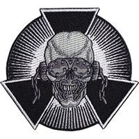Megadeth- Skull Burst embroidered patch (ep310)