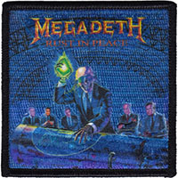 Megadeth- Rust In Peace embroidered patch (ep317)