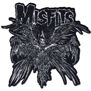 Misfits- Descending Angel embroidered patch (ep409)