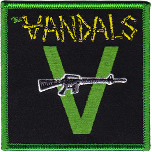 Vandals- Gun Embroidered Patch (ep629)