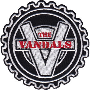 Vandals- Cog Embroidered Patch (ep630)