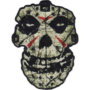 Misfits- Crystal Lake Skull embroidered patch (ep410)
