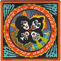 Kiss- Rock N Roll Over embroidered patch (ep143)