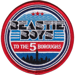 Beastie Boys- To The 5 Boroughs embroidered patch (ep631)