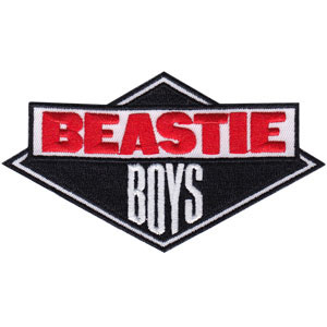 Beastie Boys- Logo embroidered patch (ep633)