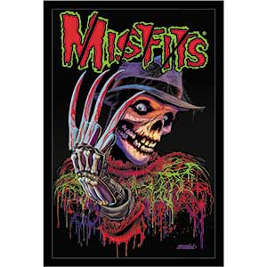 Misfits- Nightmare embroidered patch (ep413)