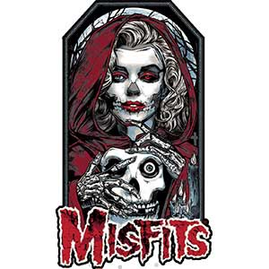 Misfits- Unmasked embroidered patch (ep414)