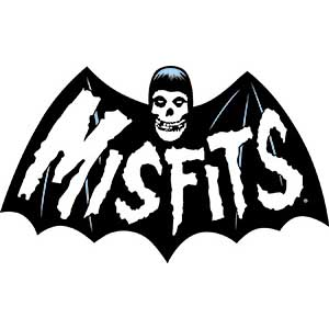 Misfits- Bat Fiend embroidered patch (ep415)