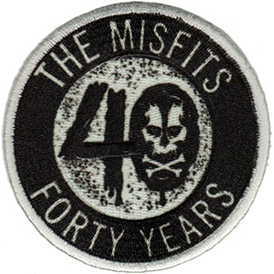 Misfits- 40 Years embroidered patch (ep940)
