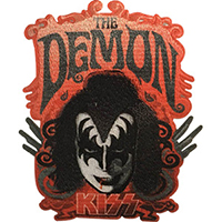 Kiss- The Demon embroidered patch (ep251)