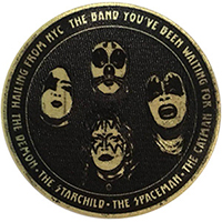 Kiss- Hailing From NYC embroidered patch (ep253)