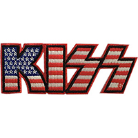 Kiss- American Logo embroidered patch (ep255)