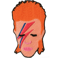 David Bowie- Alladin Sane embroidered patch (ep147)