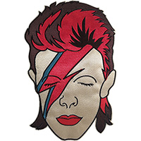 David Bowie- Aladdin Sane embroidered back patch