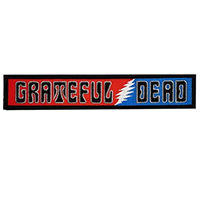 Grateful Dead- Logo embroidered back patch