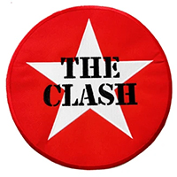 Clash- Star embroidered back patch