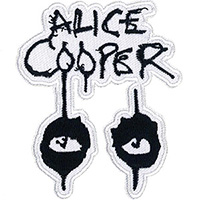Alice Cooper- Eyes embroidered patch (ep983)