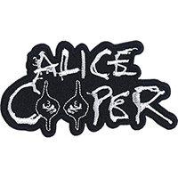 Alice Cooper- Logo With Eyes embroidered patch (ep984)