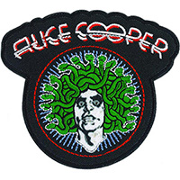 Alice Cooper- Medusa embroidered patch (ep985)